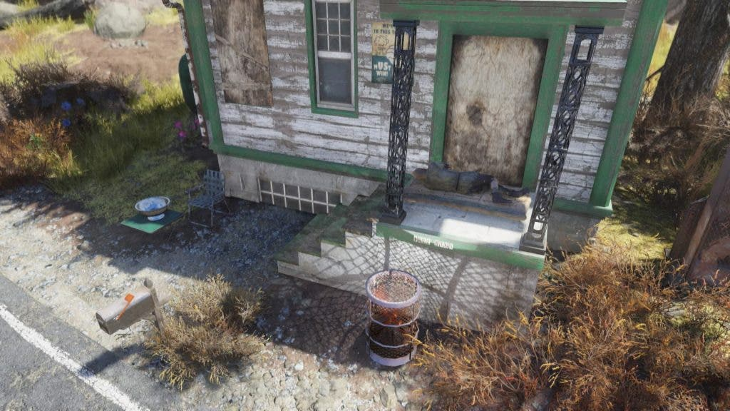 Un jugador de Fallout 76 ha decidido ser un mendigo y vivir de la caridad del resto de usuarios 1
