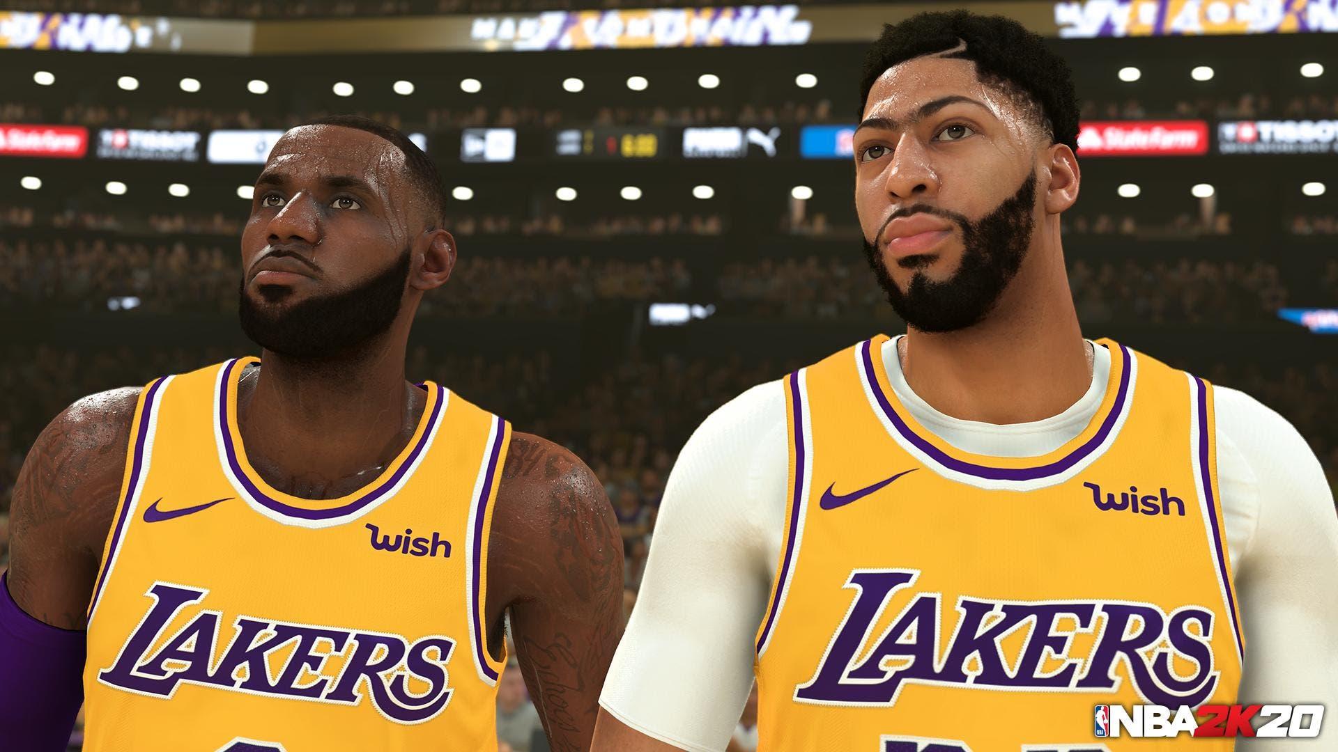 los 20 jugadores con mejor valoración en NBA 2k20