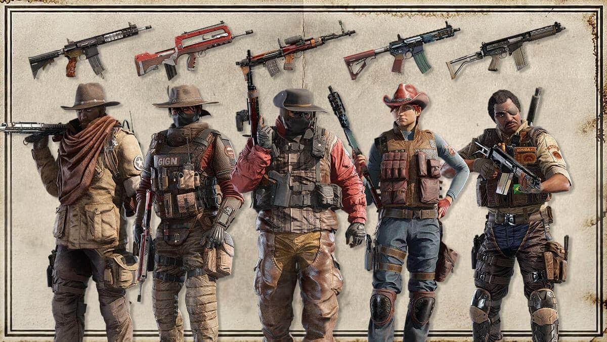 El nuevo modo de juego de Rainbow Six es Showdown y nos lleva al salvaje Oeste 2