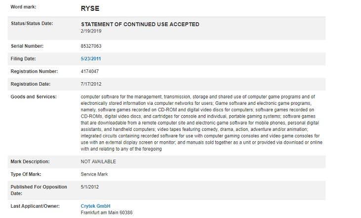 Crytek renueva la IP de su título Ryse: Son of Rome este mismo año 2