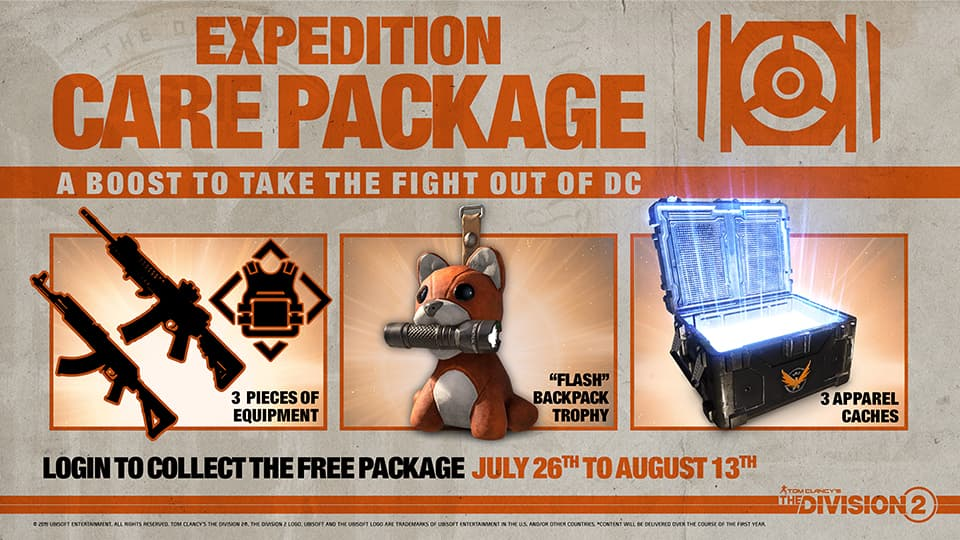 the division 2 pack gratis