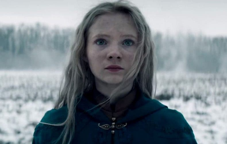 Freya Allan como Ciri en la serie de The Witcher de Netflix