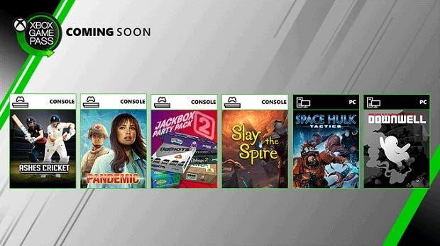 Nuevos juegos llegarán a Xbox Game Pass en la Gamescom 2019