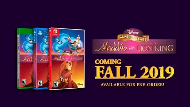 Los clasicos de Disney, Aladdin y El Rey Leon, llegarán remasterizados a Xbox One