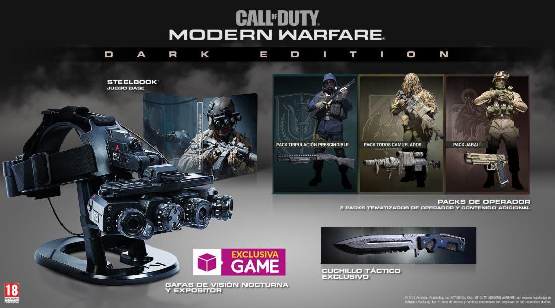 Así es la edición coleccionista de Call of Duty: Modern Warfare 1