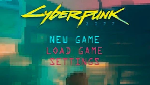 Así de curioso resulta Cyberpunk 2077 con un estilo retro de 32-bits 1