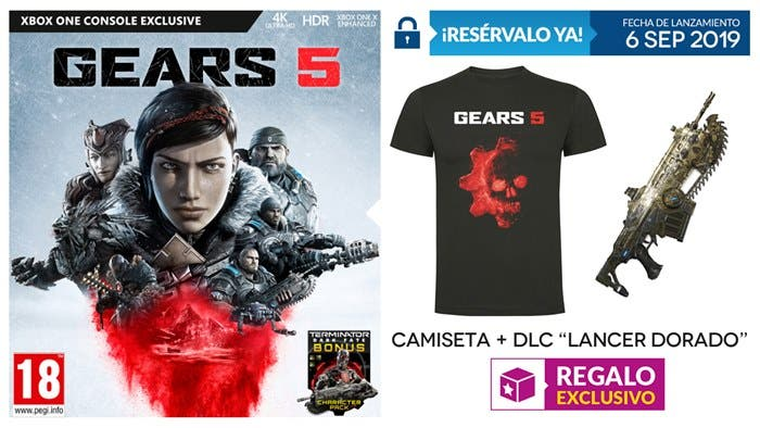 Reserva Gears 5 en Game y llévate regalos exclusivos 1