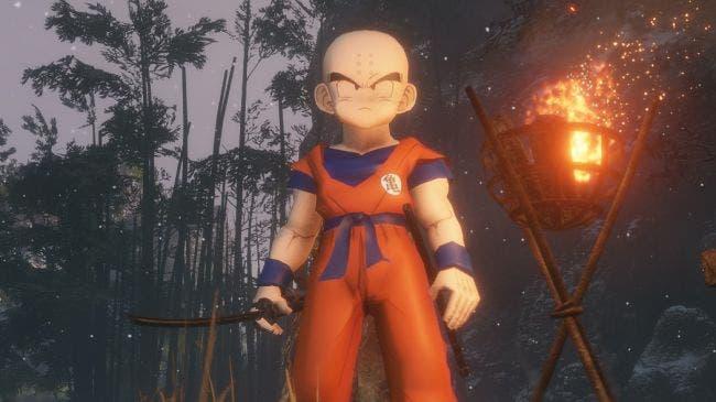 Puestos a morir, qué mejor personaje que Krillin para jugar a Sekiro: Shadows Die Twice 1