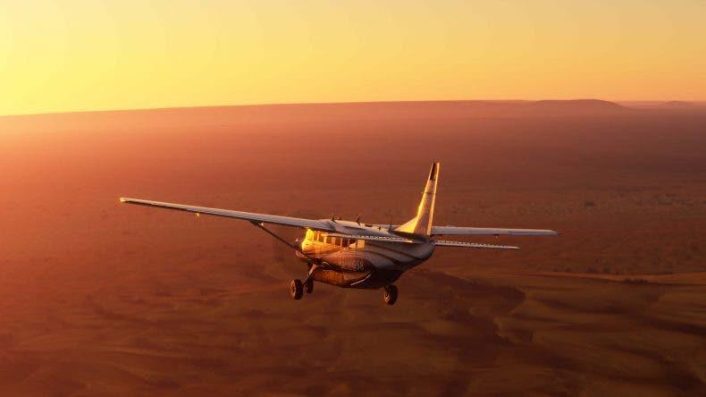 Microsoft Flight Simulator corría en un PC con la GPU más potente del mercado y 32 GB de RAM durante el X019 1