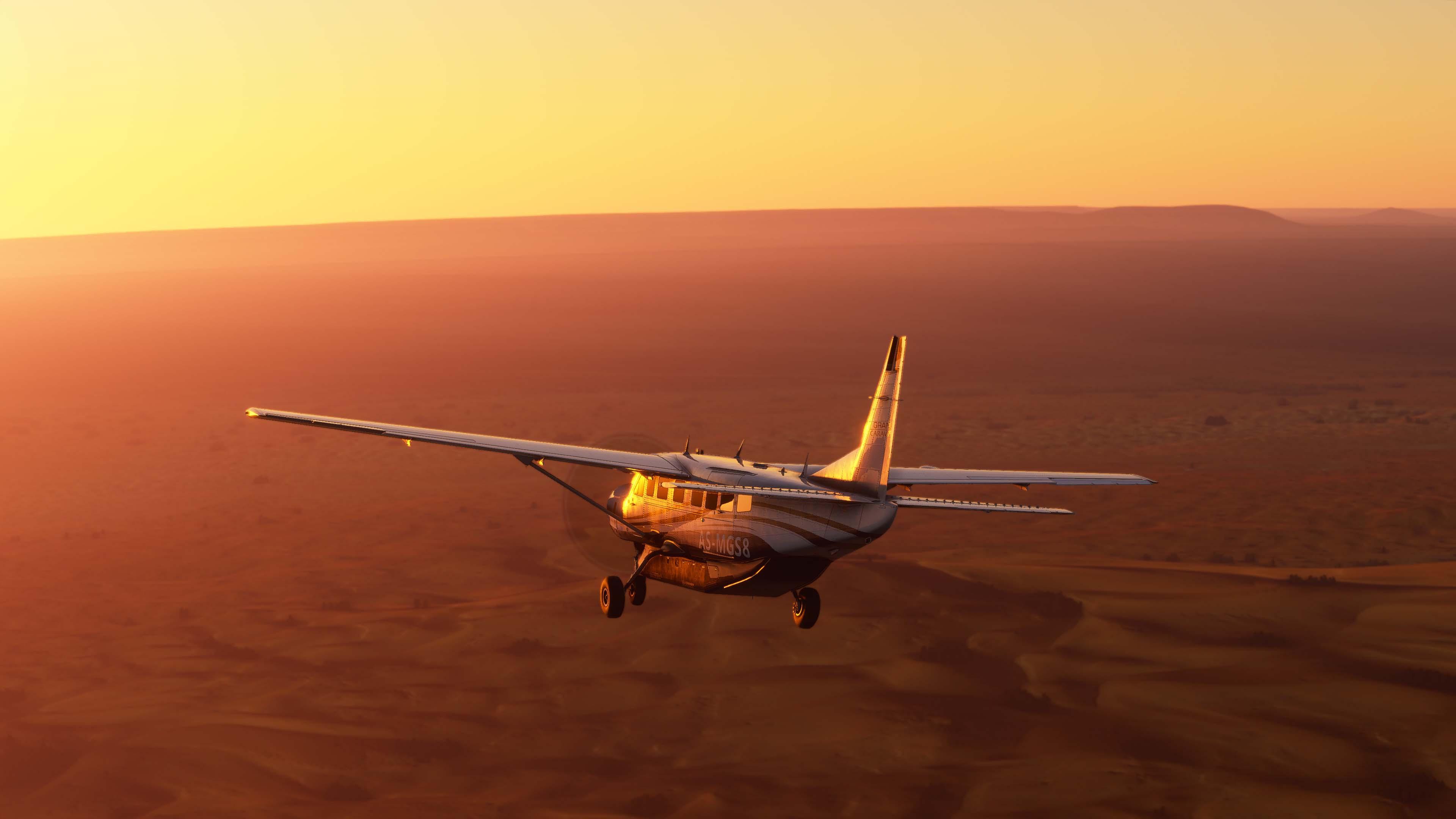 Microsoft Flight Simulator corría en un PC con la GPU más potente del mercado y 32 GB de RAM durante el X019 4