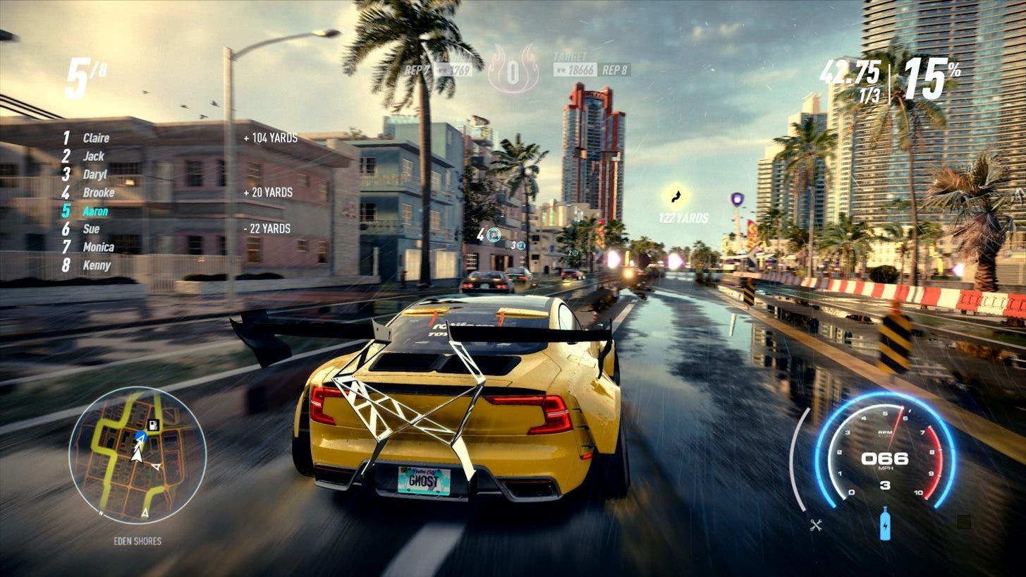 Gameplay a 4K de Need for Speed Heat desde la Gamescom 2019