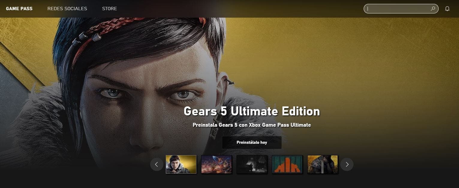 Ya disponible la presinstalación de Gears 5 tanto en Xbox One como PC