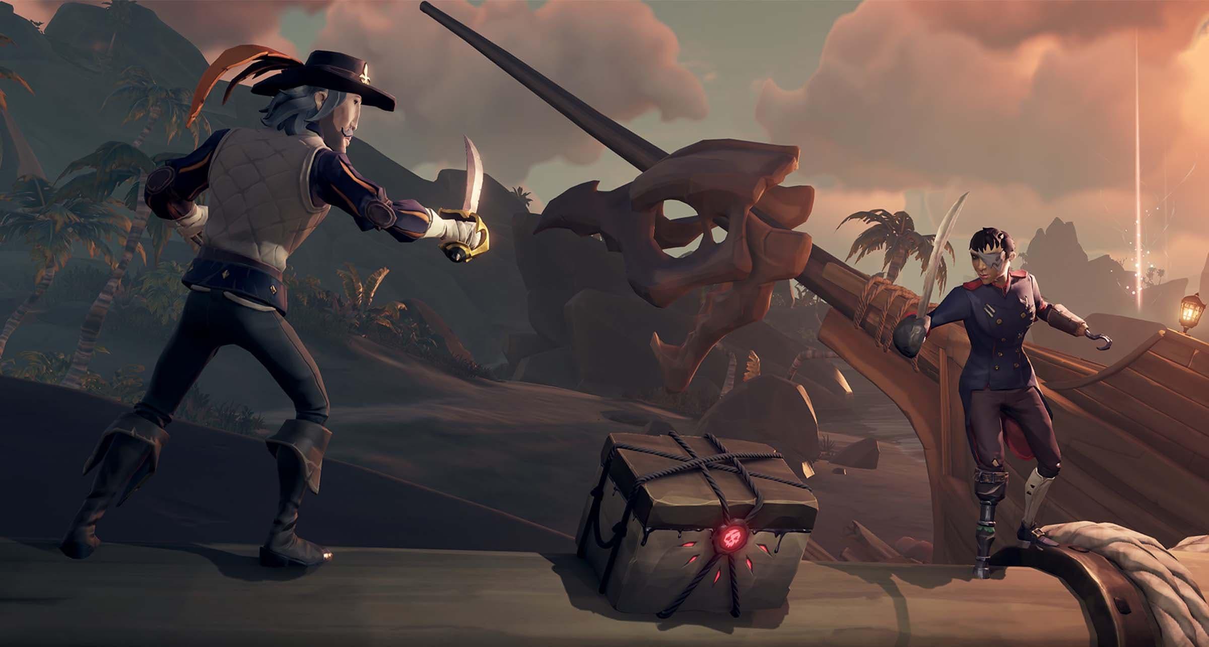 Sea of Thieves recibe nuevos contenidos en una nueva actualización, Dark Relics
