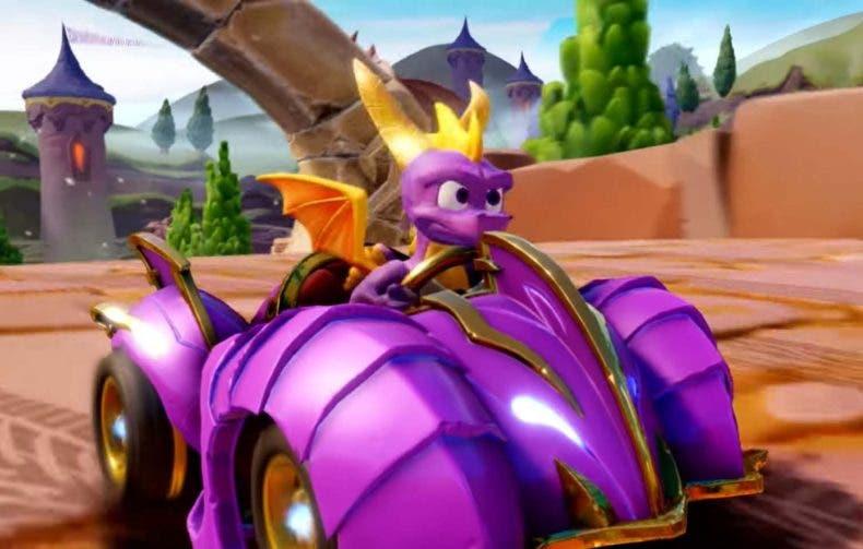 Spyro llega a Crash Team Racing Nitro-Fueled con un nuevo DLC gratuito 1