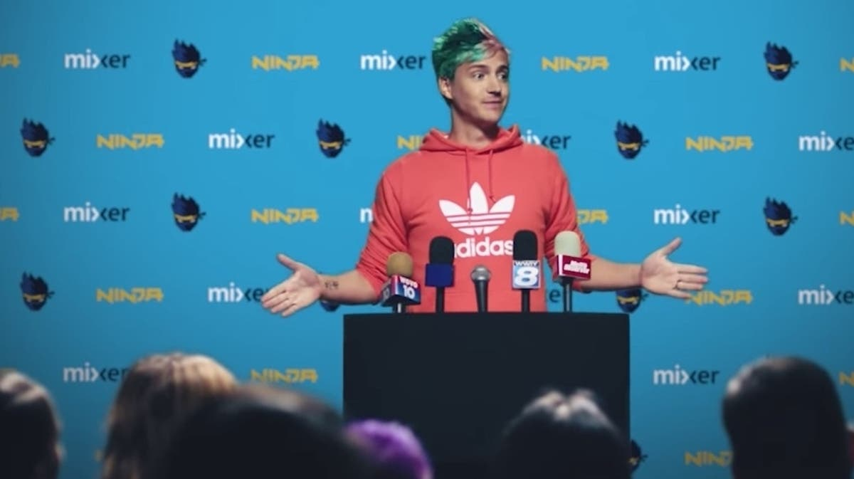 Ninja annonced his move to Mixer