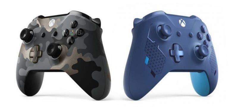 Night Ops Camo y Sport Blue son los dos nuevos mandos de Xbox One 1