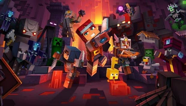 Llega la actualización de Minecraft Dungeons para Xbox Series X/S 14