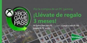 Compra un PC Gaming en El Corte Inglés y consigue 3 meses gratis de Xbox Game Pass 12