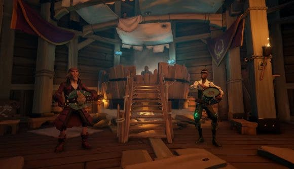 Sea of Thieves añadiría el banjo para ampliar la orquesta pirata en su próxima actualización 1