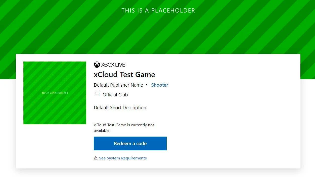 Aparecen las primeras aplicaciones de xCloud en la Xbox Store 2
