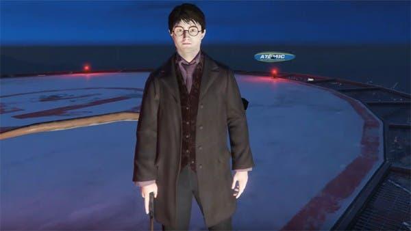 Harry Potter hechizando a la gente en GTA V se convierte en viral 1