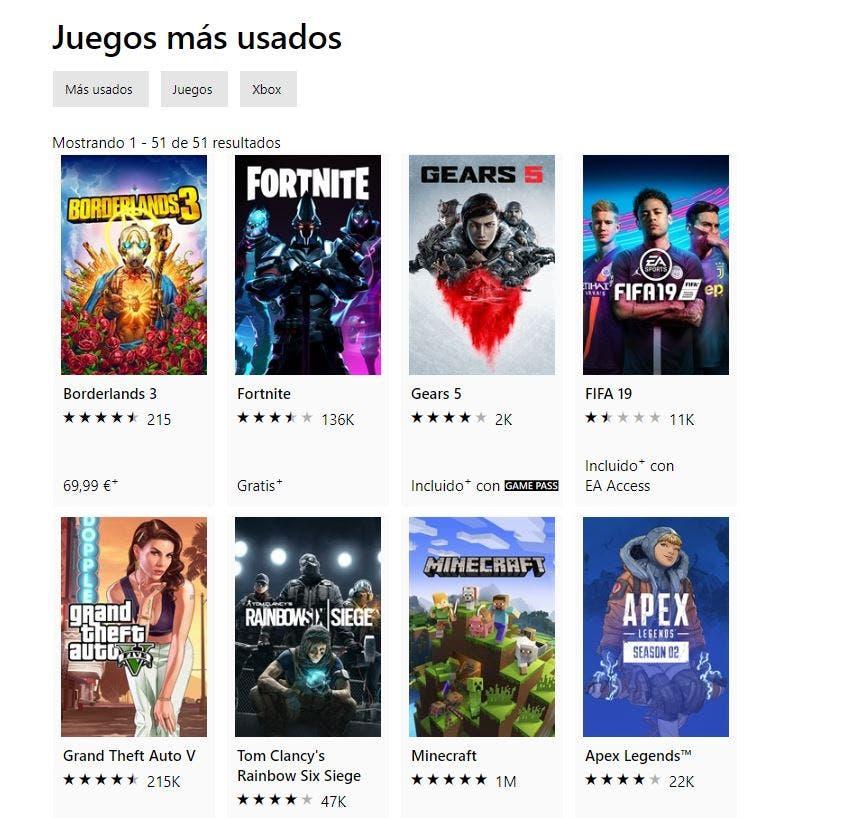 Borderlands 3 se convierte en el juego más jugado de la Xbox Store