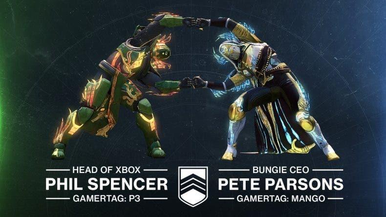 Phil Spencer y el CEO de Bungie unirán sus fuerzas en Destiny 2 1
