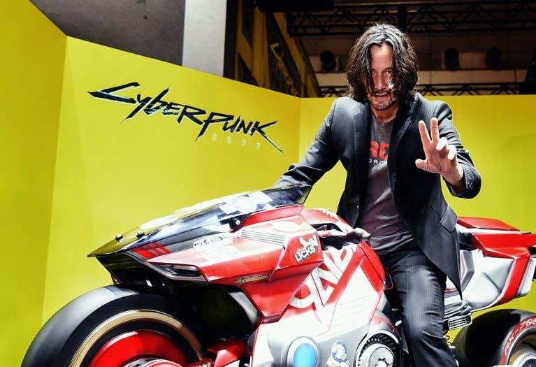 La moto de Cyberpunk 2077, protagonista de la Tokyo Game Show 1