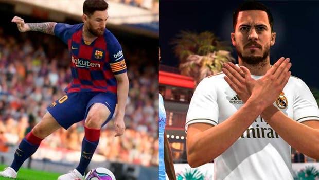 ¿Cuál tiene mejores gráficos?¿FIFA 20 o eFootball PES 2020? 1
