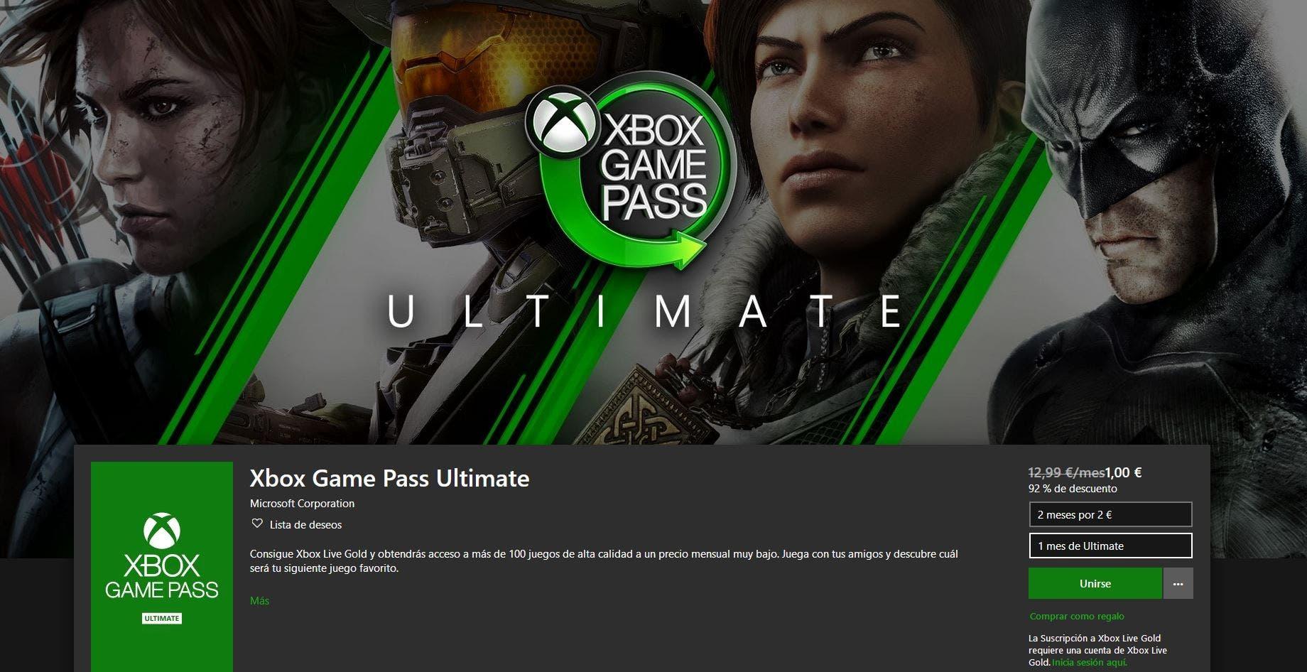 Si queréis jugar a Gears 5 mañana, aprovechad esta promoción de Xbox Game Pass Ultimate por 2€