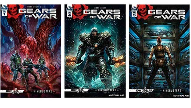Hay grandes planes para expandir la franquicia Gears of War más allá de los videojuegos