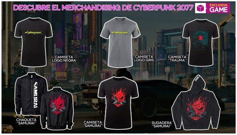 GAME llevará merchandising oficial de Cyberpunk 2077 a la MGW 2