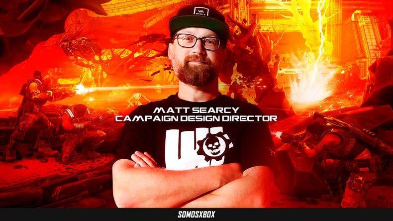 Entrevista a Matt Searcy, Campaign Design Director de Gears 5 1