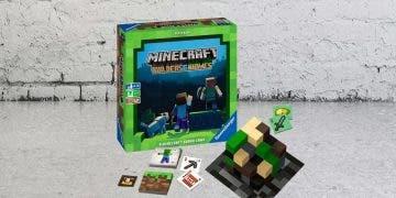 Se anuncia la llegada del esperado juego de mesa de Minecraft 4
