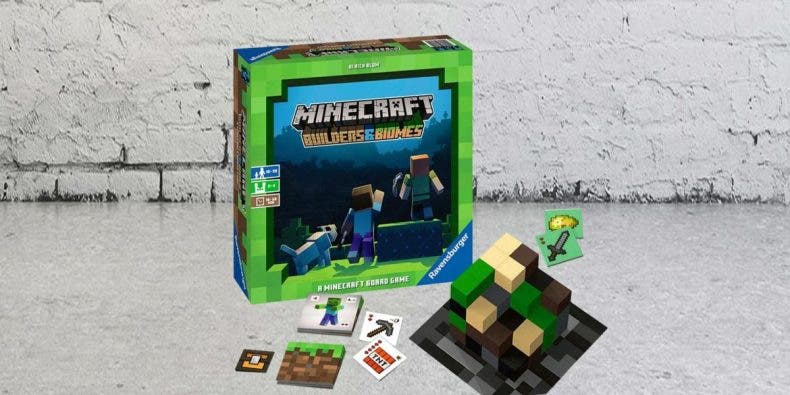 Se anuncia la llegada del esperado juego de mesa de Minecraft 1