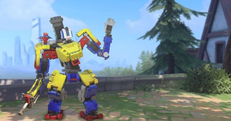 Overwatch se une a la moda LEGO con un nuevo evento 1
