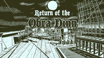 Return of the Obra Dinn llegará a Xbox One en otoño 7