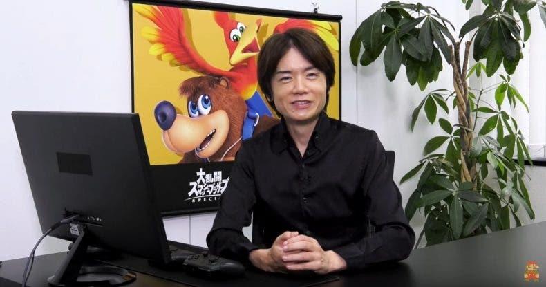 Sakurai recomienda jugar a Banjo & Kazooie en Xbox durante el Nintendo Direct 1