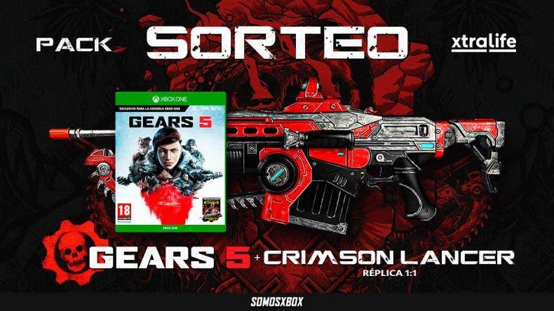 Sorteamos un Gears 5 y una réplica 1:1 del Crimson Lancer 1