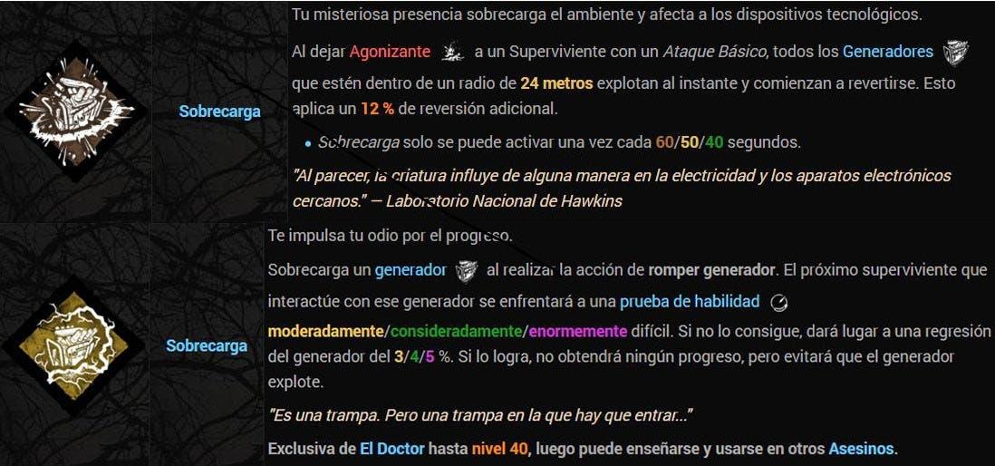 Dead by Daylight comete un error flagrante en su traducción al castellano 2
