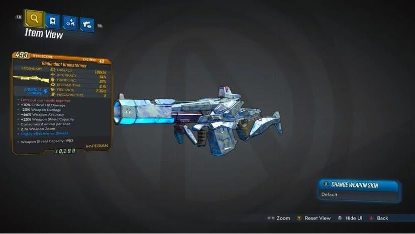 Descubre todas las armas legendarias de Borderlands 3 6
