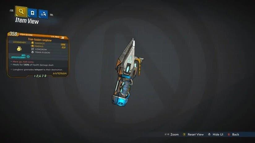 Descubre todas las armas legendarias de Borderlands 3 8