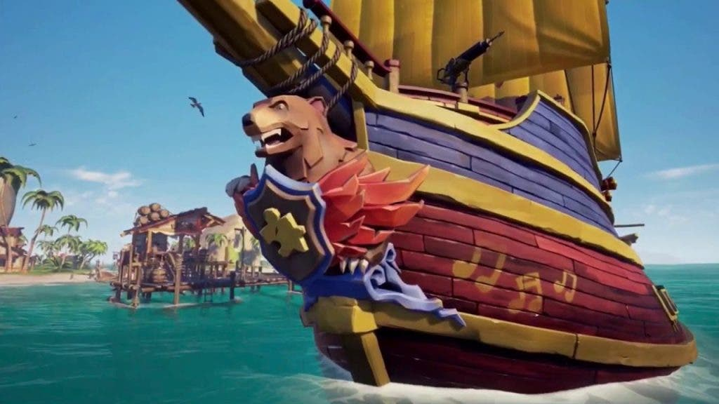 barco banjo-kazooie sea of thieves
