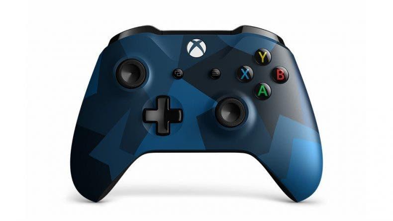Microsoft presenta su nuevo mando Midnight Forces II Edición Especial 1