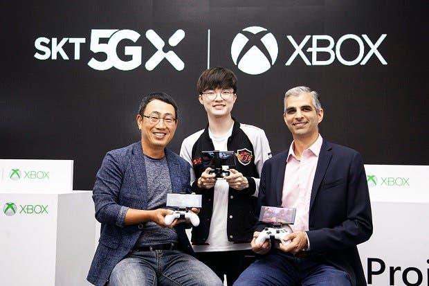 Microsoft y la empresa coreana SKT se alían para juegos 5G en la nube 1
