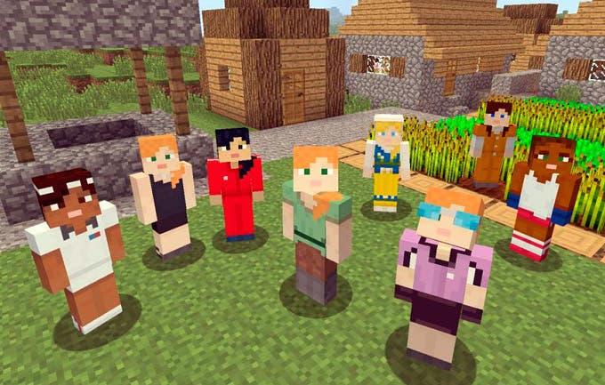 Minecraft incorpora un editor de personajes y ya lo puedes probar en la beta 1