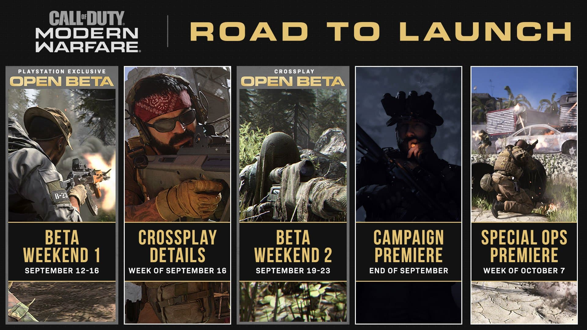 Ya hay fecha para la presentación de la campaña de Call of Duty: Modern Warfare 1