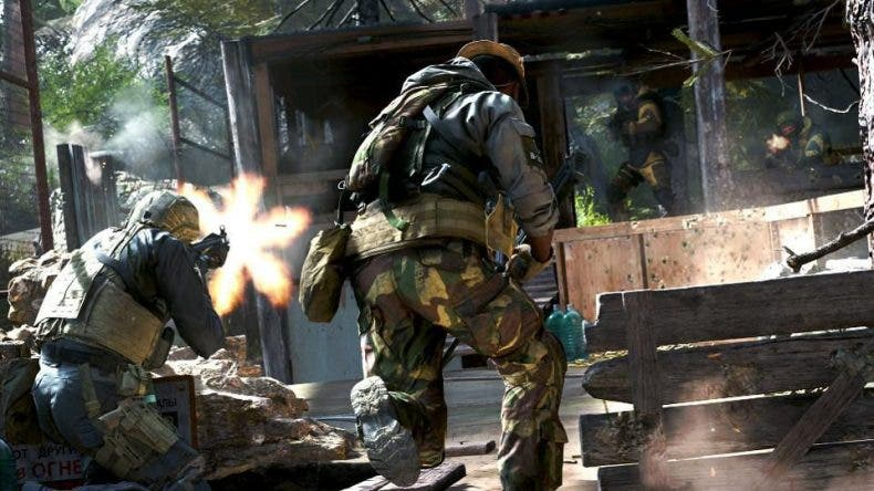 Captura de pantalla de Call of Duty: Modern Warfare