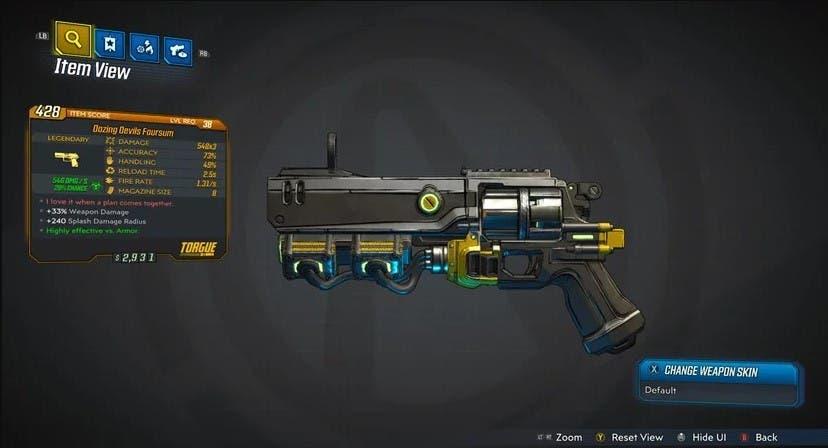 Descubre todas las armas legendarias de Borderlands 3 4