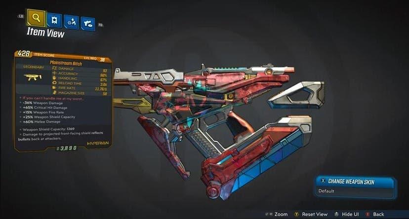 Descubre todas las armas legendarias de Borderlands 3 3